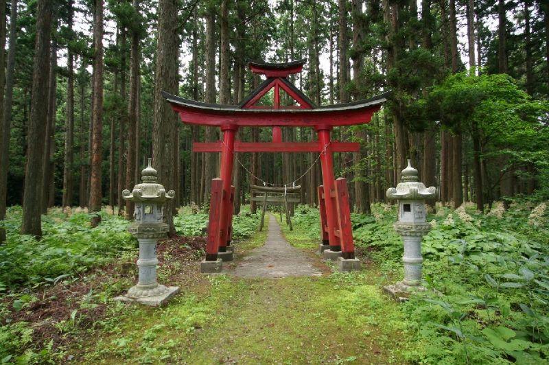 Sanno hie jinja shrine