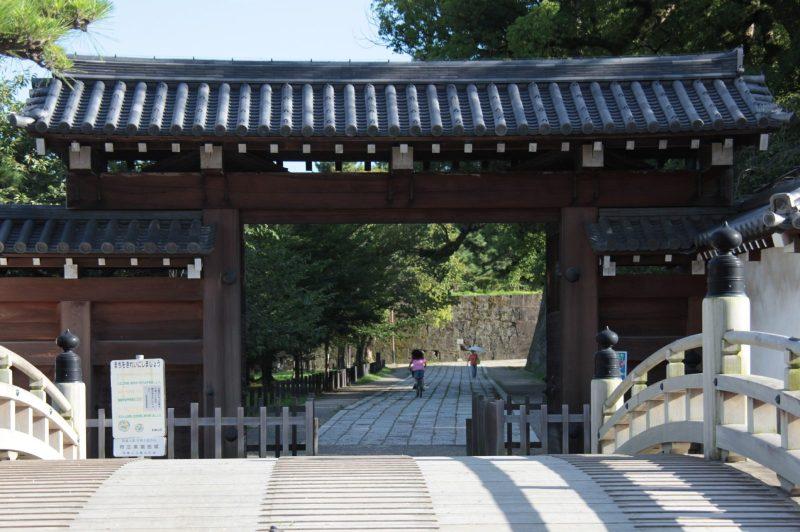 Wakayama Castle, Otemon gate