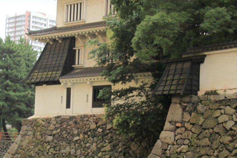 Kokura Castle, Ishiotoshi
