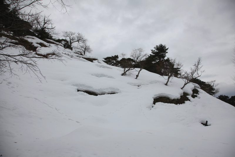 Kasugayama castle ruin