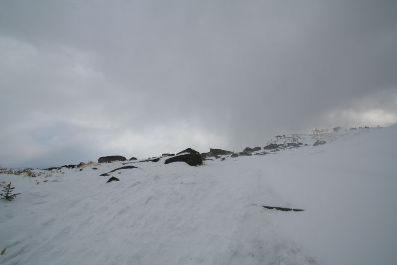 Bihoro pass in winter