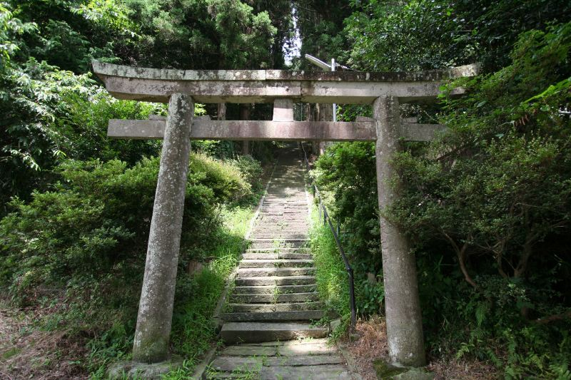 Daimon jinjya shrine