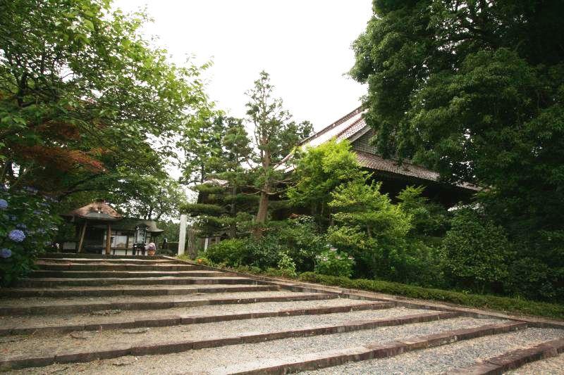 Miroku-ji temple in Miyagi