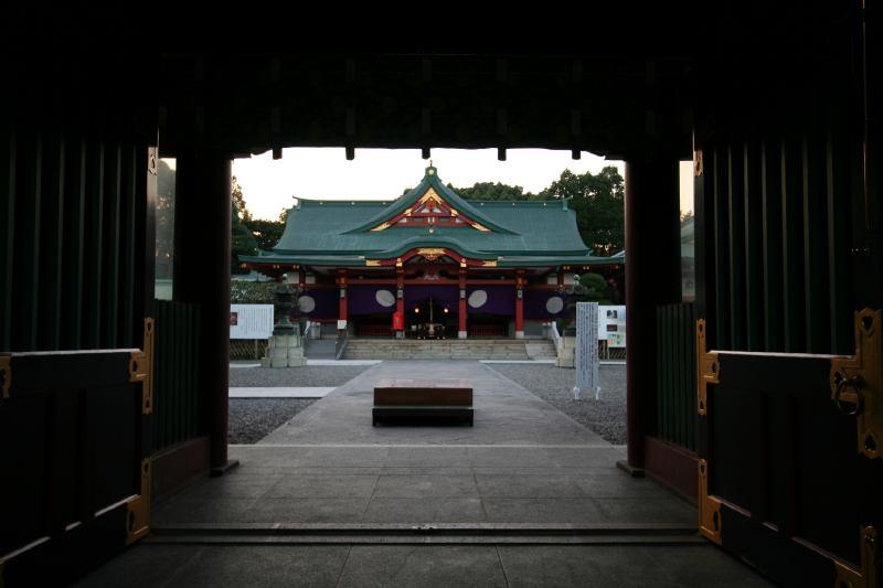 Sanno Hie Jinjya shrine in Akasaka, Tokyo Japan