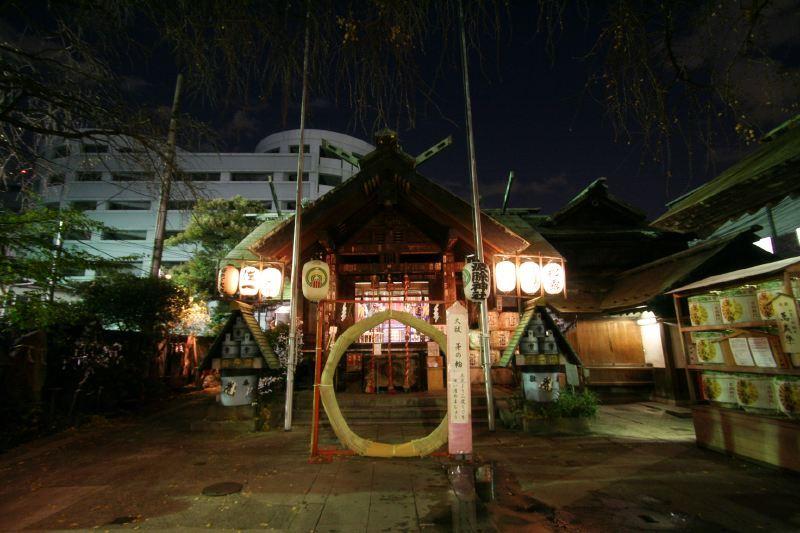 Tsukiji | Namiyoke jinja shrine
