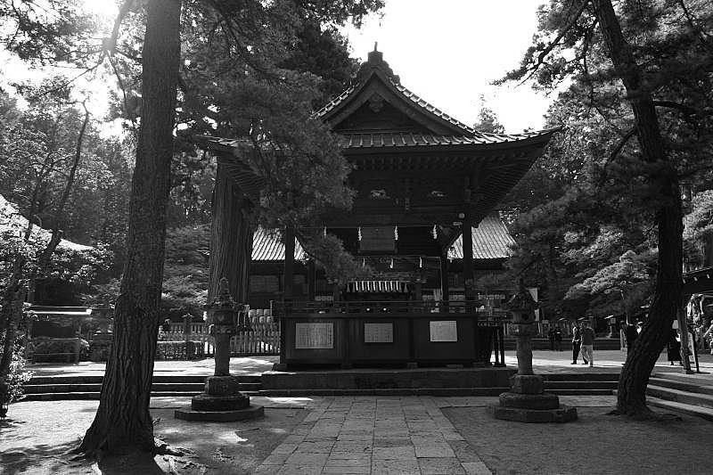 Fuji sengen jinja shrine