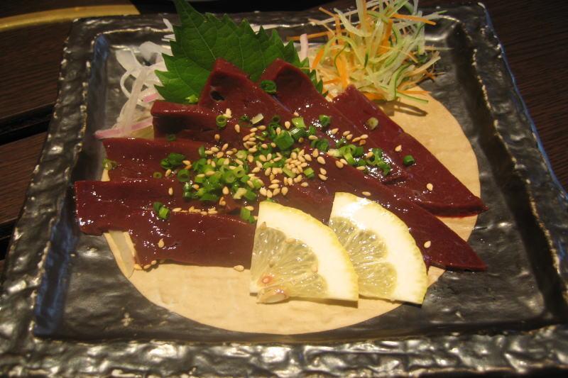 basashi liver