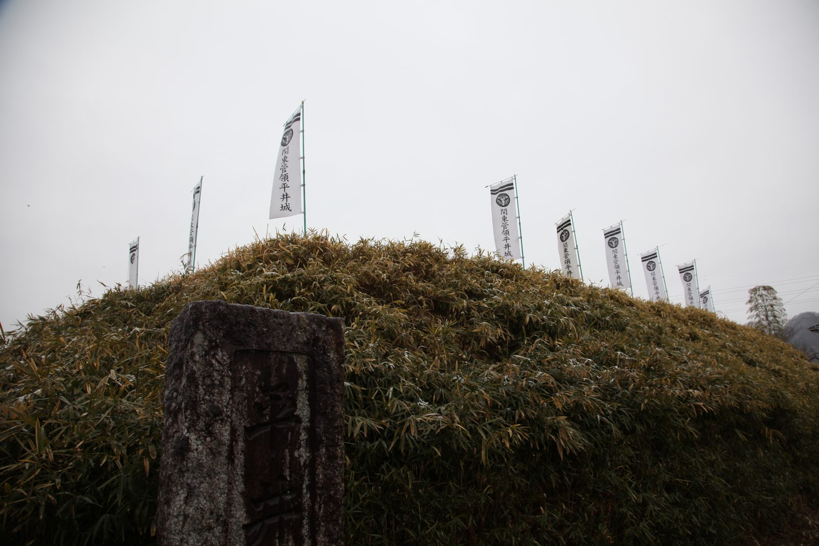 Hirai castle ruin