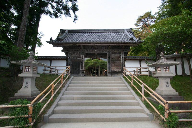 Chusonji front gate