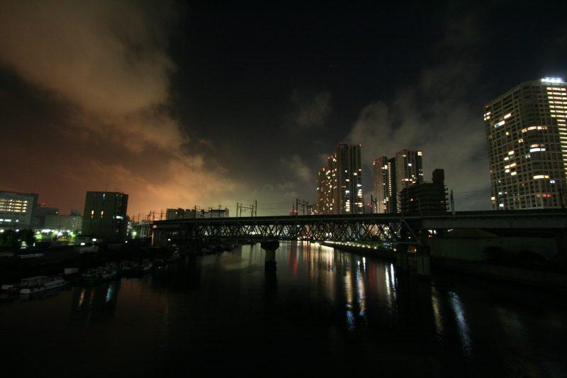 Night in Japan