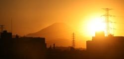 東村山から見る富士山