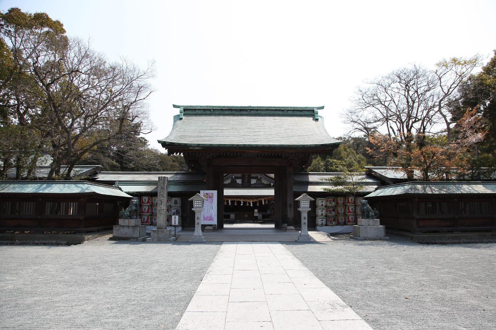 Munakata Taisha(Hetsu-Miya)