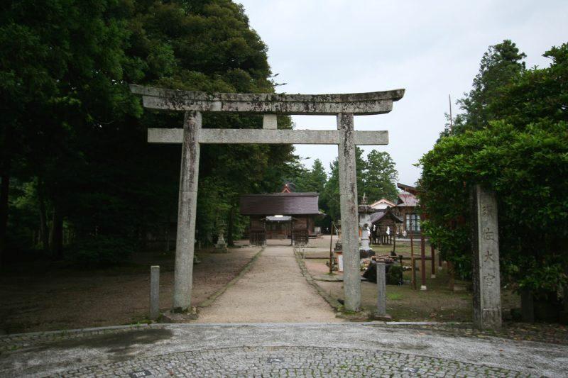 Susa jinja shrine