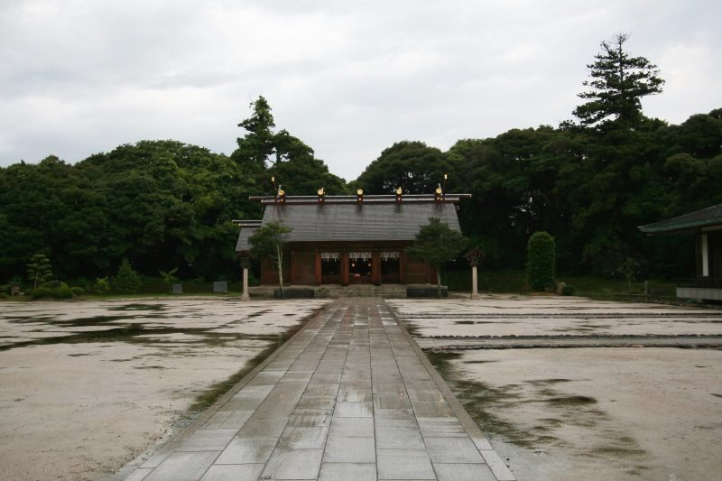 Matsue gokoku jinja shrine