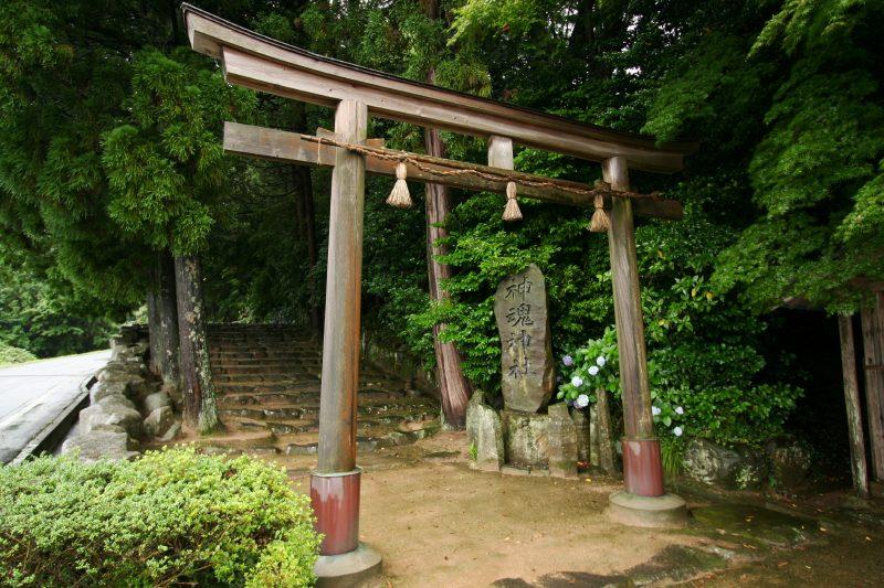 Kamosu jinja shrine