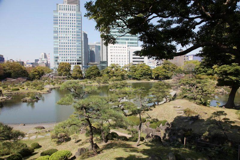 Old Shibarikyu garden