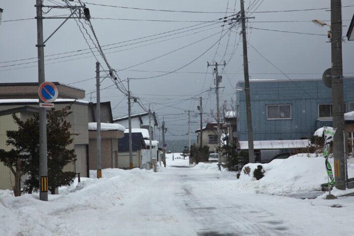 冬の野辺地