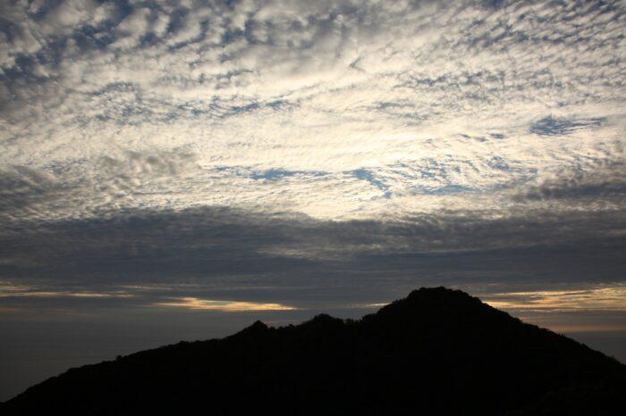 日本の夕方の風景「東京 小笠原」