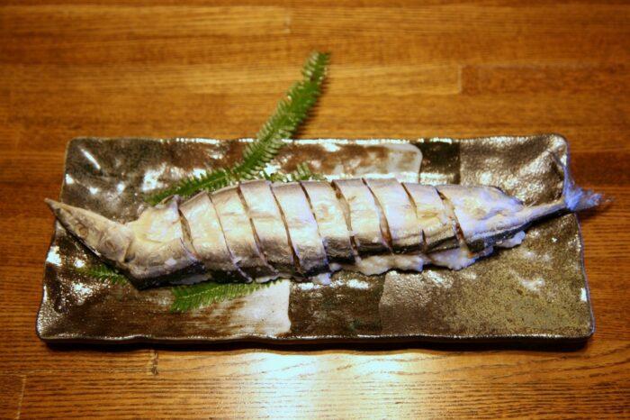 秋刀魚のなれずし