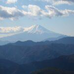 富士山を見る(山から)