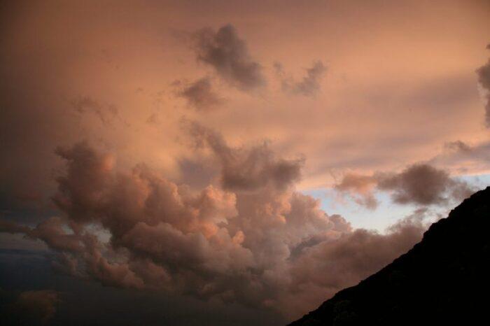 富士山から眺める風景 (登山・下山の途中で)
