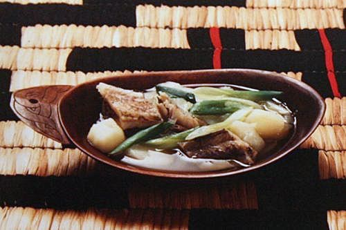チェプオハウ(魚の塩汁)