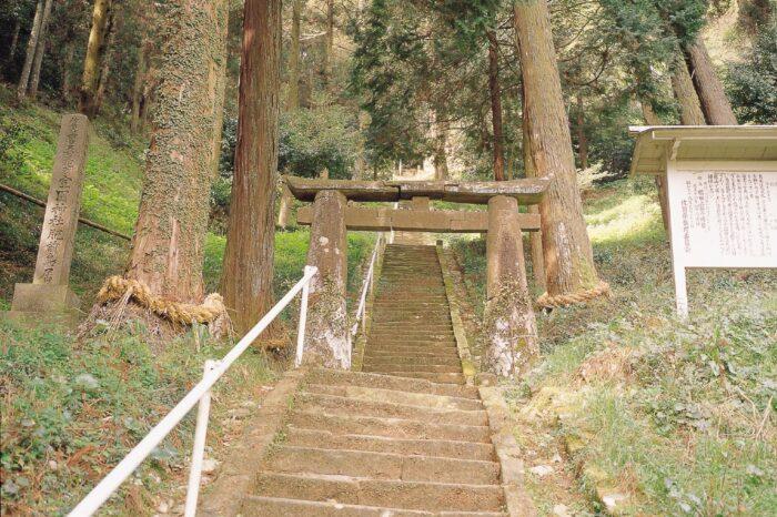 室園神社 肥前鳥居