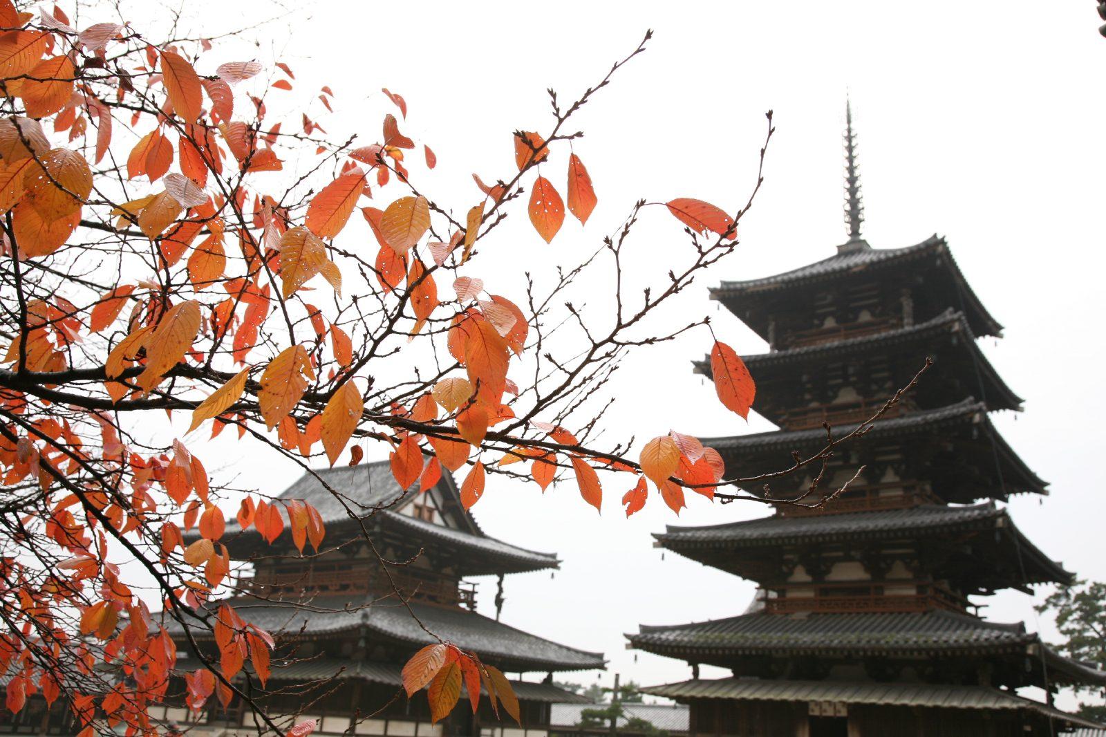 秋の法隆寺 | JAPAN WEB MAGAZINE