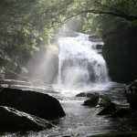 つがね落としの滝