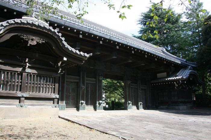 旧因州池田屋敷表門