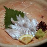 太刀魚(タチウオ)の刺身