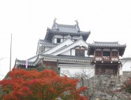 秋の福知山城