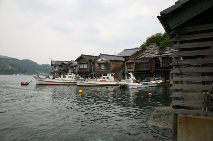 伊根の舟屋の写真
