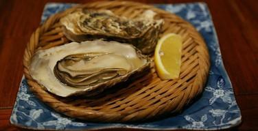 仙鳳趾産の牡蠣