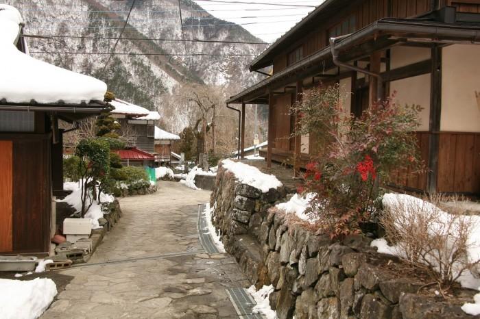 赤沢重要伝統的建造物群保存地区