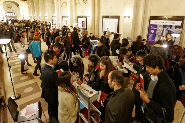 Study in Japan Fair in Paris 2014