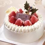 東京會舘、12月15日~12月25日限定でクリスマスケーキ5種を提供  20人で食べられるパーティー用から「クリスマスマロンシャンテリー」まで