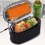 USBヒーター内蔵でお弁当ホカホカ。ポーチと大容量800mlのお弁当箱セット 『USB電熱保温弁当箱ポーチ』
