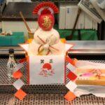 青森「Festival City AUGA」の地下と林檎の鏡餅
