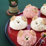 2015年1月期間限定 干支のケーキ「福未(ふくひつじ)」  東京會舘 スウィートプラザにて販売