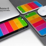 レインボーカラーのポップで楽しいデザインiPhoneケース 「Lim's Rainbow Classic Edition for iPhone 6」  衝撃吸収するポリカーボネート&TPU素材採用