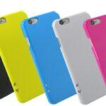 スマートフォンの表面を抗菌効果で保護するiPhone6専用プラスチックケース発売中