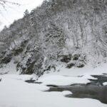 冬の片品渓谷