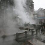野沢温泉 麻釜熱湯湧泉