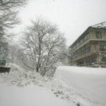 雪の宝川温泉
