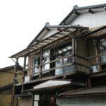 鮭を干す風景 新潟県村上市
