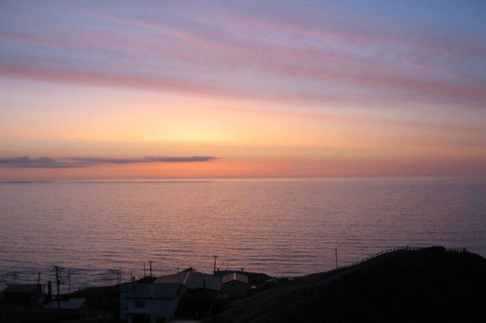 襟裳岬の朝