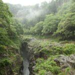 雨上がりの高千穂峡