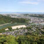 岩国城から見る風景