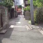 東京 谷中の裏路地